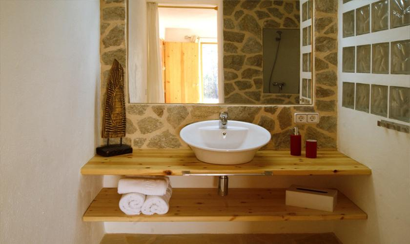Badezimmer Ferienhaus Ibiza IBZ 66