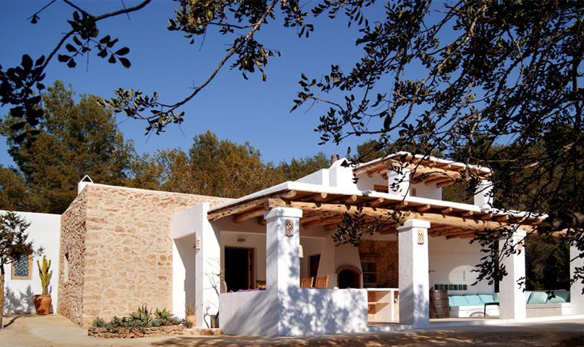 Blick auf das Ferienhaus Ibiza IBZ 66