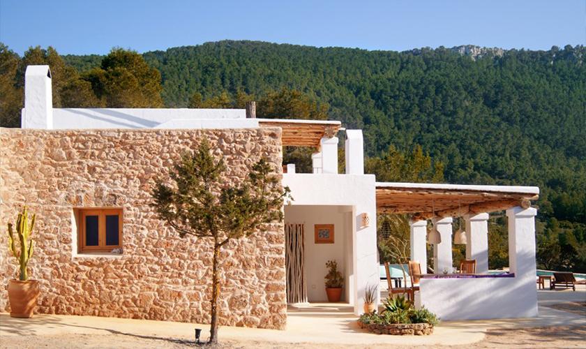 Blick auf die Ferienvilla Ibiza IBZ 66