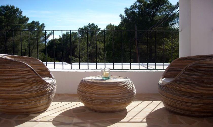 Terrasse oben Ferienhaus Ibiza IBZ 66