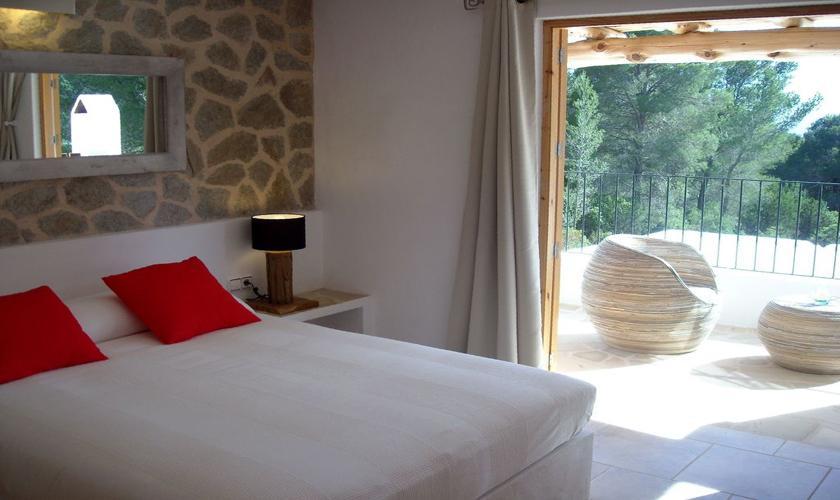 Schlafzimmer Ferienvilla Ibiza IBZ 66