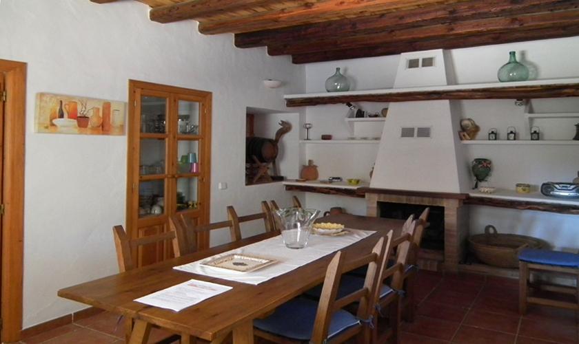Essplatz Finca Ibiza 10 Personen IBZ 67