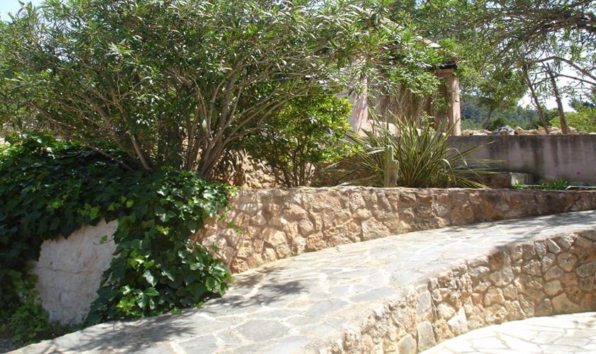 Blick auf die Ferienfinca Ibiza IBZ 67