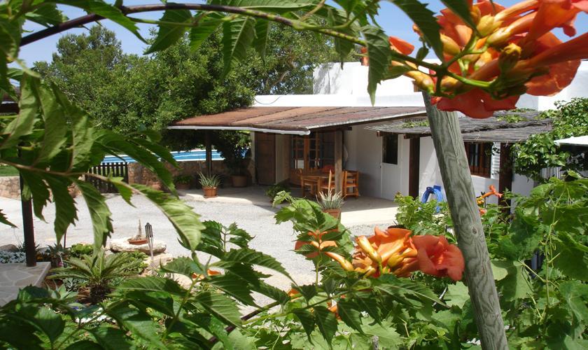 Terrasse und Finca Ibiza 10 Personen IBZ 67