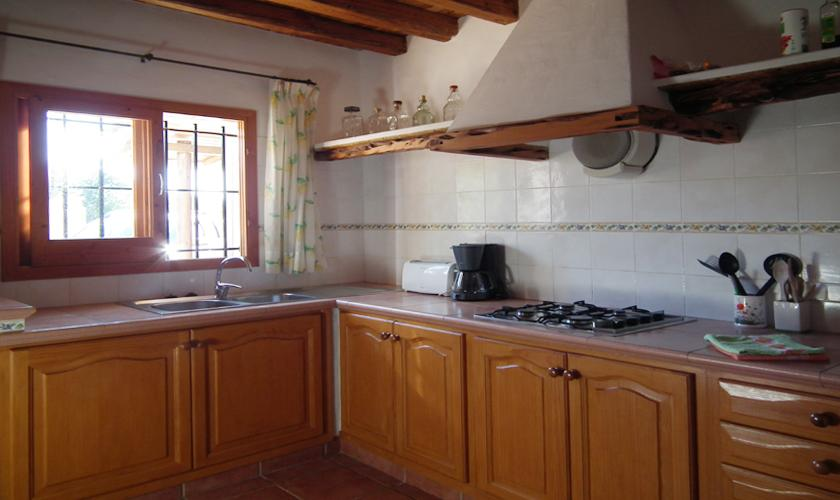 Küche Ferienfinca Ibiza IBZ 67
