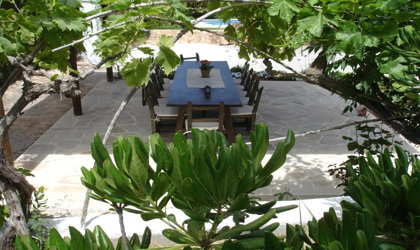 Terrasse Finca Ibiza 10 Personen IBZ 67