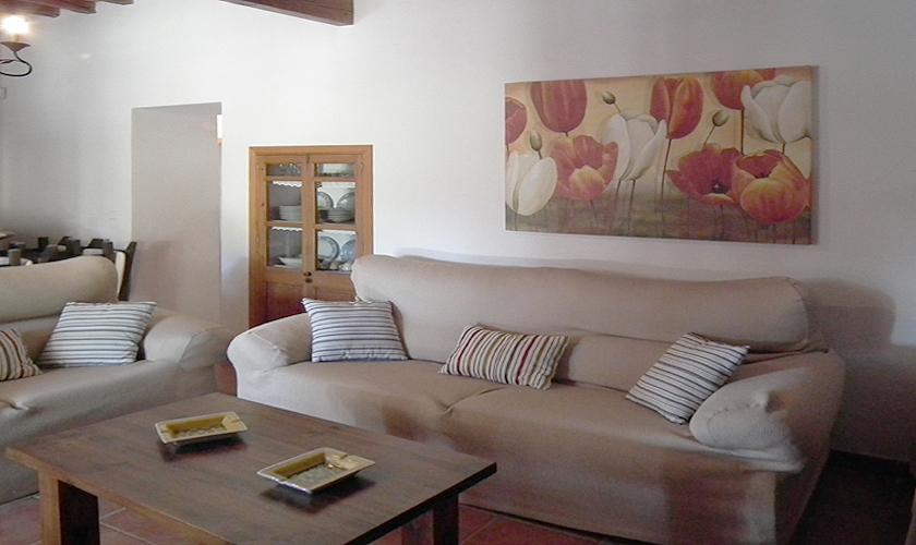 Wohnraum Finca Ibiza 10 Personen IBZ 67