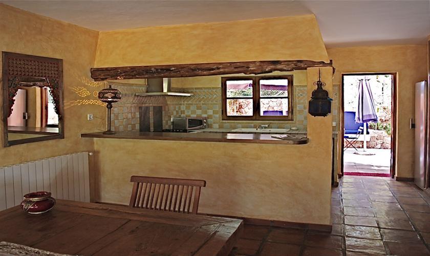Küche Finca Ibiza für 12 - 14 Personen IBZ 68