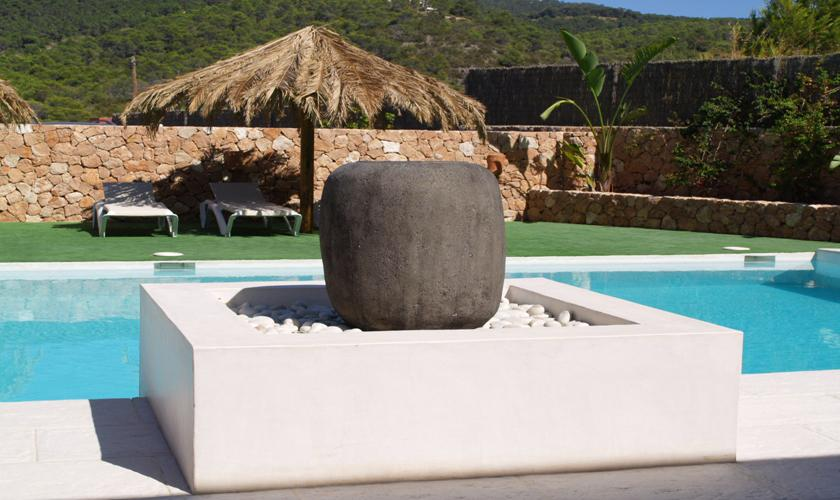 Pool Finca Ibiza für 12 - 14 Personen IBZ 68