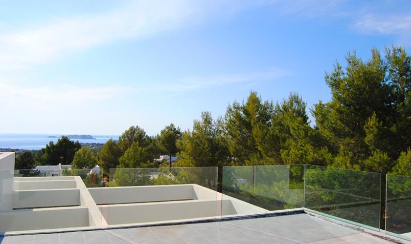 Dachterrasse Ferienhaus Ibiza 10 Personen IBZ 70