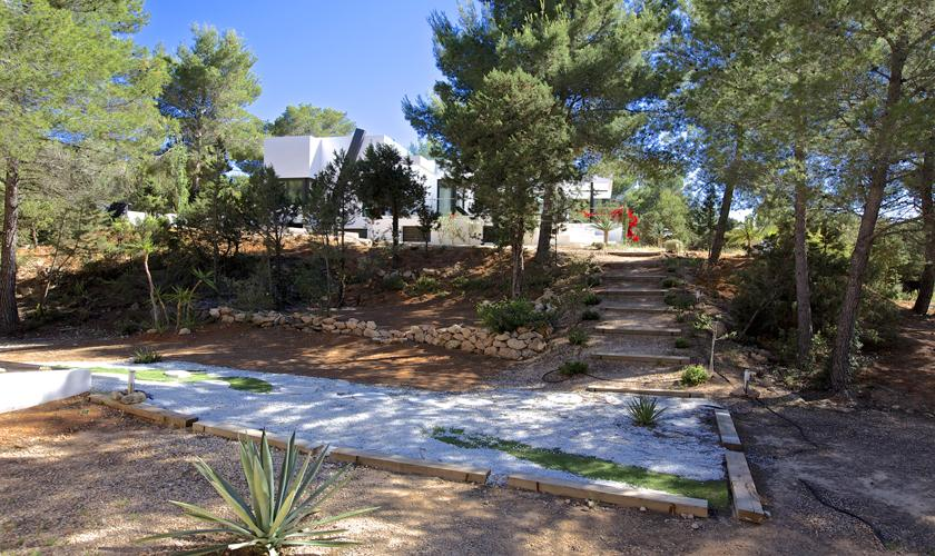 Garten Ferienhaus Ibiza 10 Personen IBZ 70