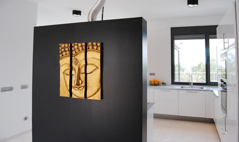 Küche Modernes Ferienhaus Ibiza 10 Personen IBZ 70