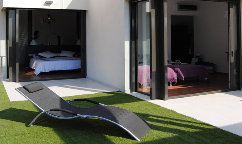 Terrasse der exklusiven Villa Ibiza 10 Personen IBZ 70