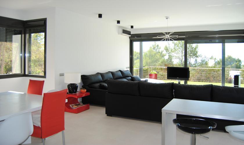 Wohnraum Ferienvilla Ibiza 10 Personen IBZ 70