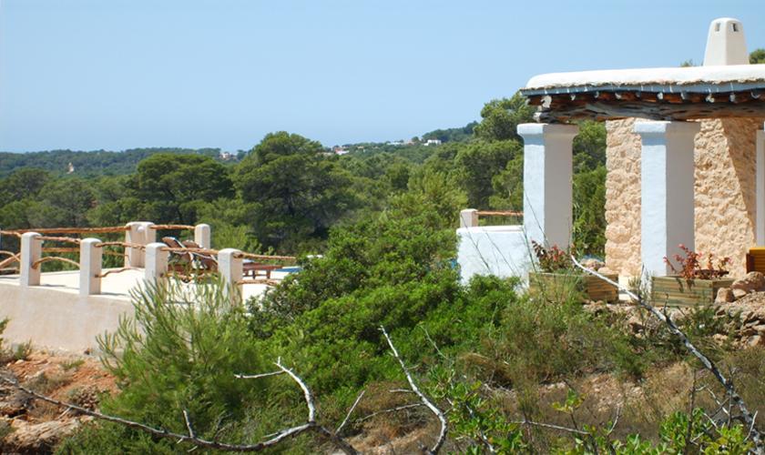 Terrasse Finca Ibiza 2 Personen IBZ 75