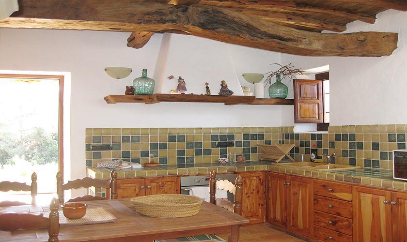 Küche Finca Ibiza 2 Personen IBZ 75