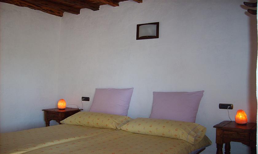 Schlafzimmer Finca Ibiza 2 Personen IBZ 75