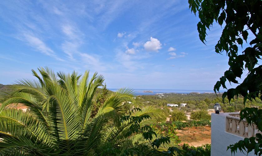 Blick vom Ferienhaus Ibiza IBZ 76