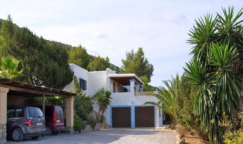 Blick auf die Finca Ibiza 6 Personen IBZ 76