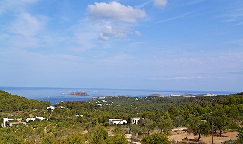Blick von der Finca Ibiza 6 Personen IBZ 76