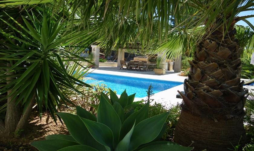 Pool und Garten Finca Ibiza 6 Personen IBZ 76