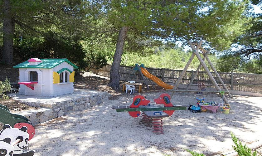 Spielplatz Finca Ibiza 6 Personen IBZ 76