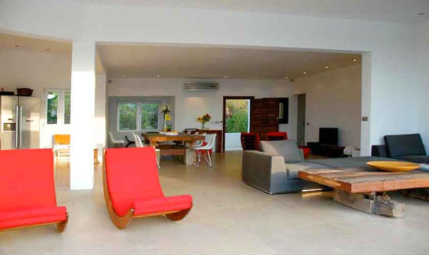 Wohnraum Villa Ibiza Cala Vadella IBZ 81