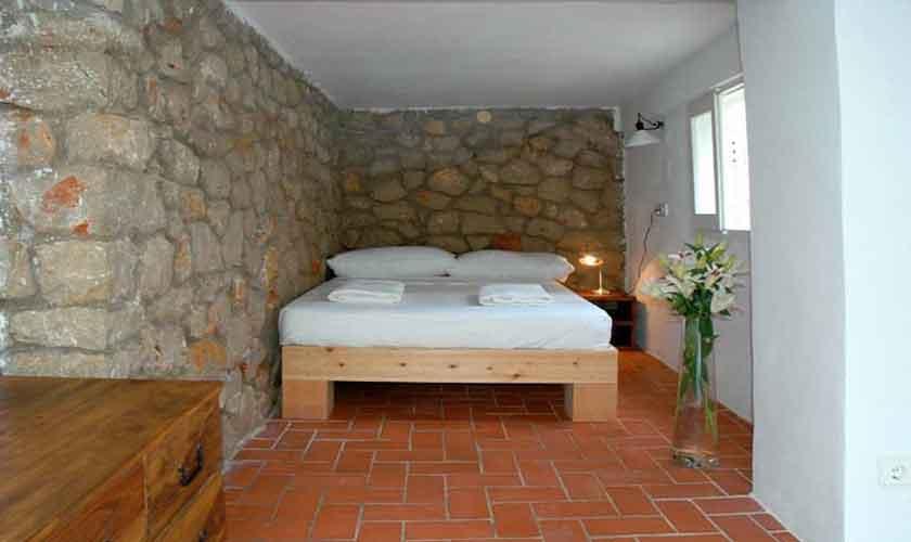 Schlafzimmer Ferienhaus Ibiza Cala Vadella IBZ 81