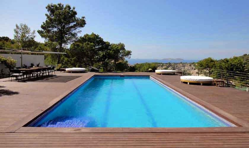Poolblick Ferienvilla Ibiza IBZ 81