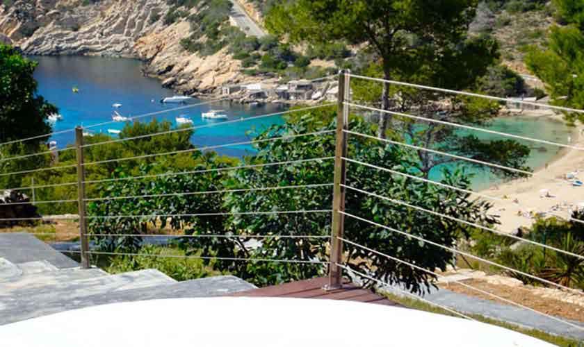 Meerblick Ferienvilla Ibiza Cala Vadella IBZ 81