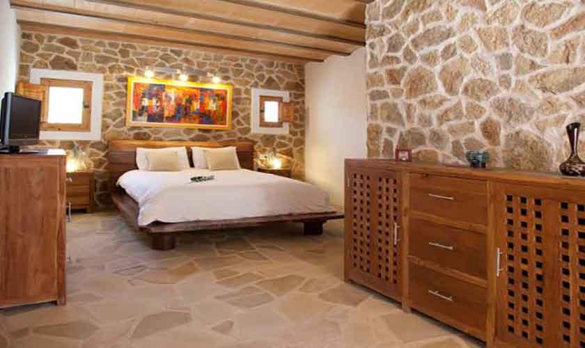 Schlafzimmer Finca Ibiza für 8-10 Personen IBZ 82