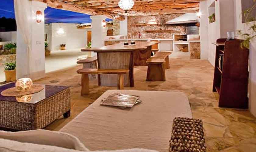 Esstisch Terrasse Finca Ibiza für 8-10 Personen IBZ 82