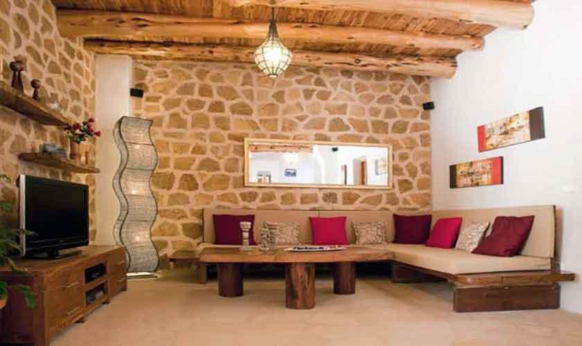 Wohnraum Finca Ibiza für 8-10 Personen IBZ 82