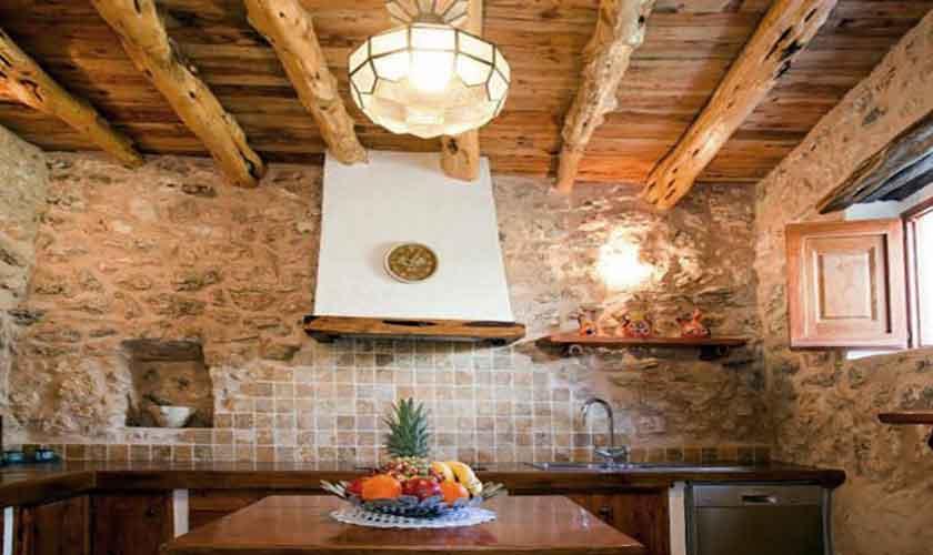 Küche Finca Ibiza für 8-10 Personen IBZ 82