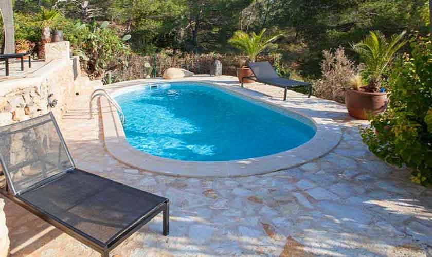 Pool und Finca Ibiza Ses Salines IBZ 85