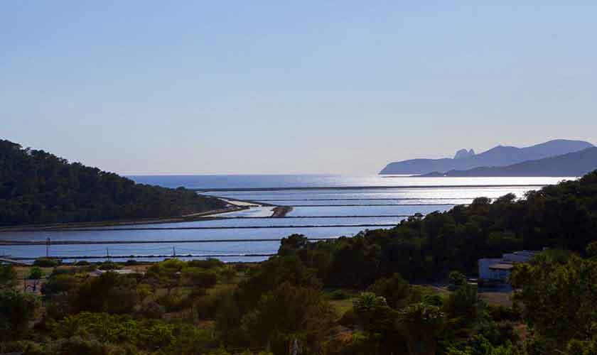 Meerblick und Salinen Finca Ibiza Ses Salines IBZ 85