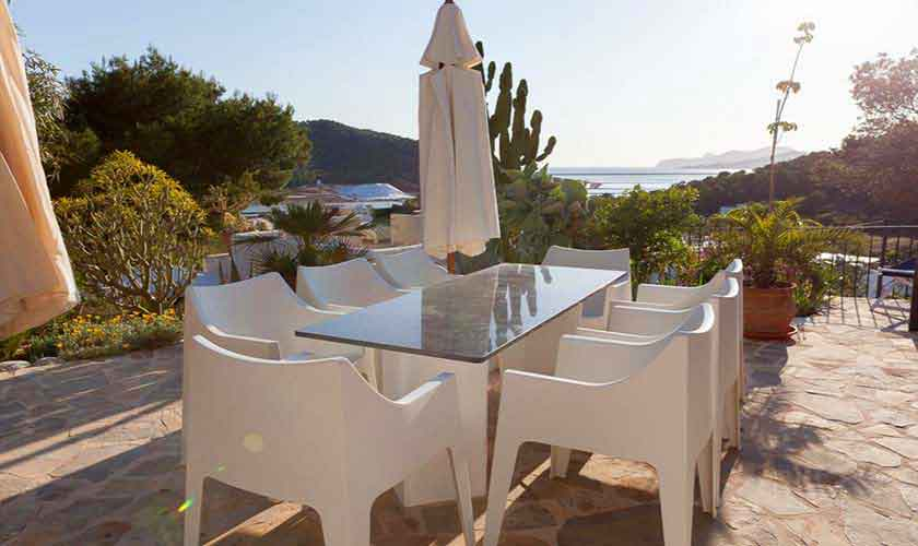 Esstisch im Freien Finca Ibiza Ses Salines IBZ 85