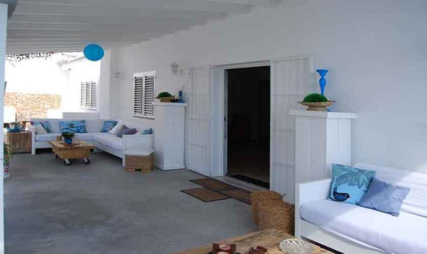 Terrasse und Villa Ibiza 12 Personen IBZ 88