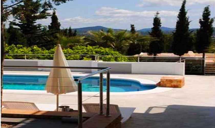 Poolblick Villa Ibiza 12 Personen IBZ 88