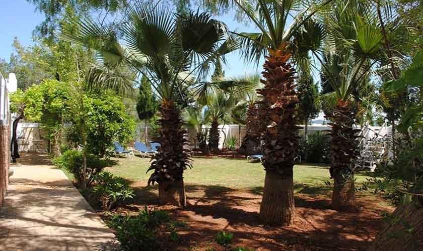Garten Ferienvilla Ibiza 12 Personen IBZ 88