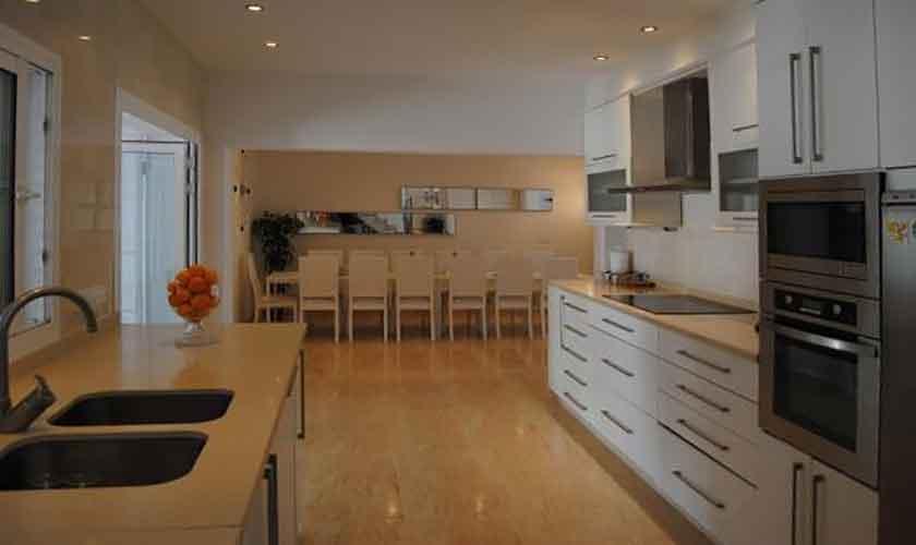 Küche Ferienvilla Ibiza 12 Personen IBZ 88