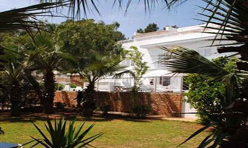 Garten und Rasen Ferienvilla Ibiza 12 Personen IBZ 88