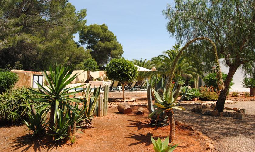 Garten Finca Ibiza 6 Personen IBZ 90
