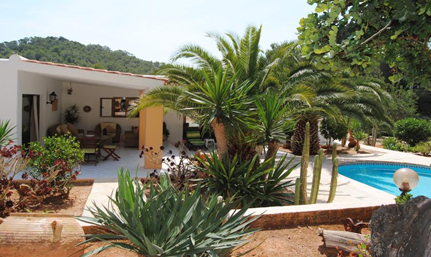 Terrasse Finca Ibiza 6 Personen IBZ 90
