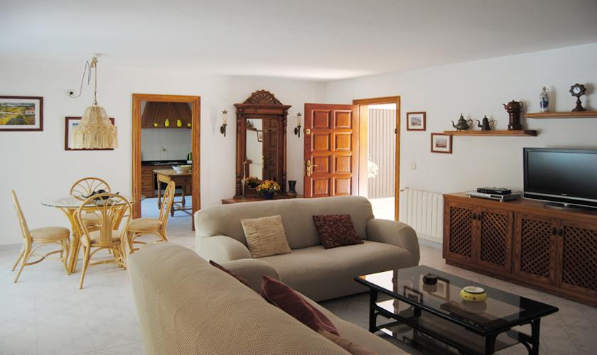Wohnraum Finca Ibiza 6 Personen IBZ 90