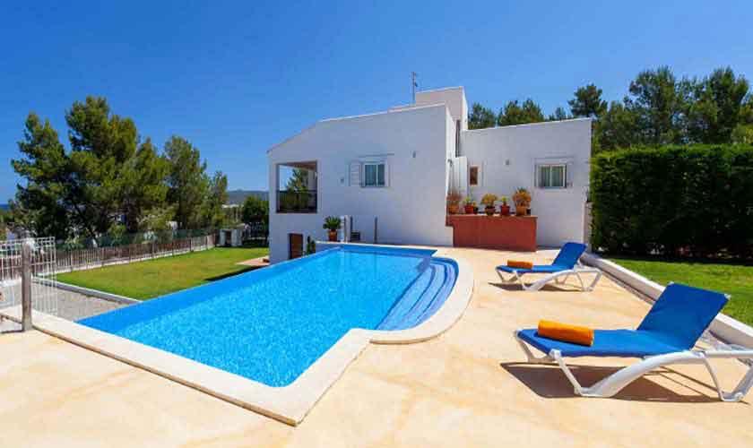 Terrasse und Ferienhaus Ibiza 8 Personen IBZ 91