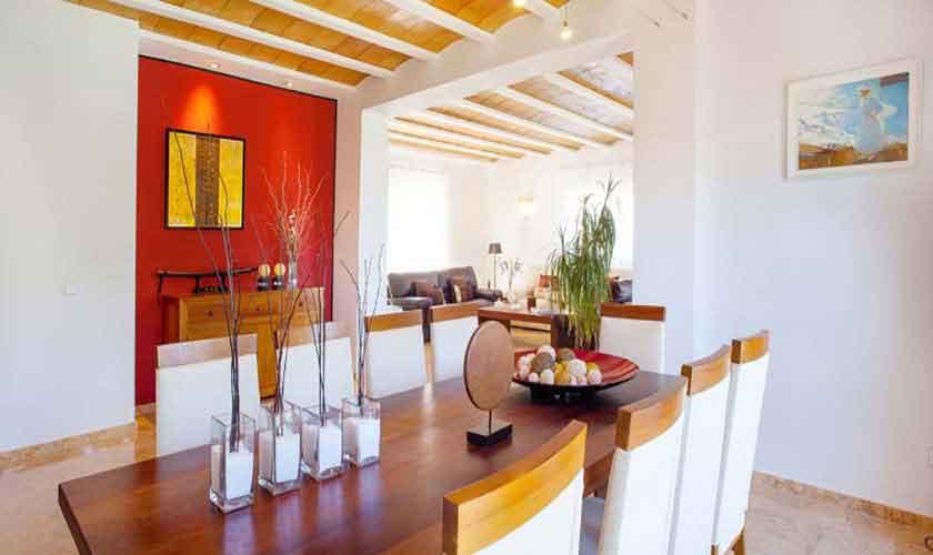Esstisch Ferienhaus Ibiza 8 Personen IBZ 91