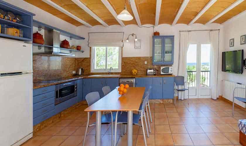 Küche Ferienhaus Ibiza 8 Personen IBZ 91
