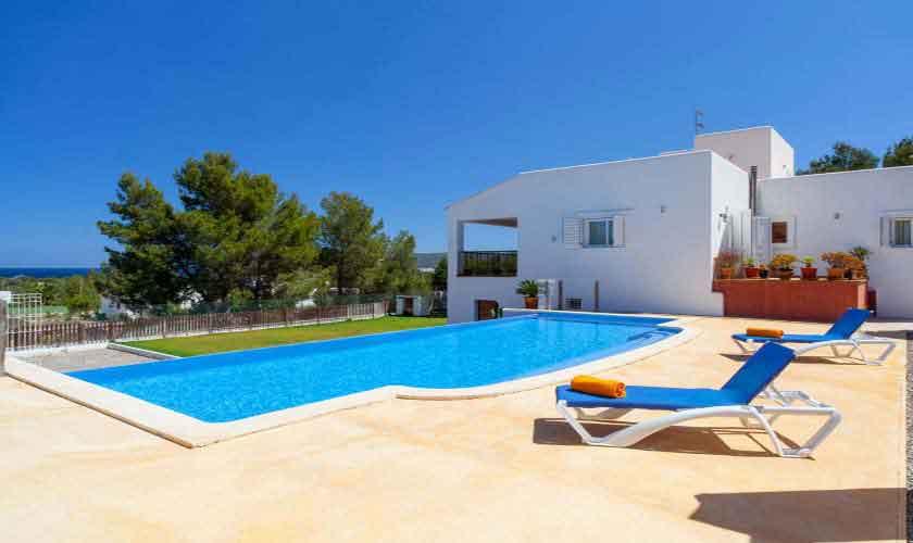Pool und Ferienvilla Ibiza 8 Personen IBZ 91