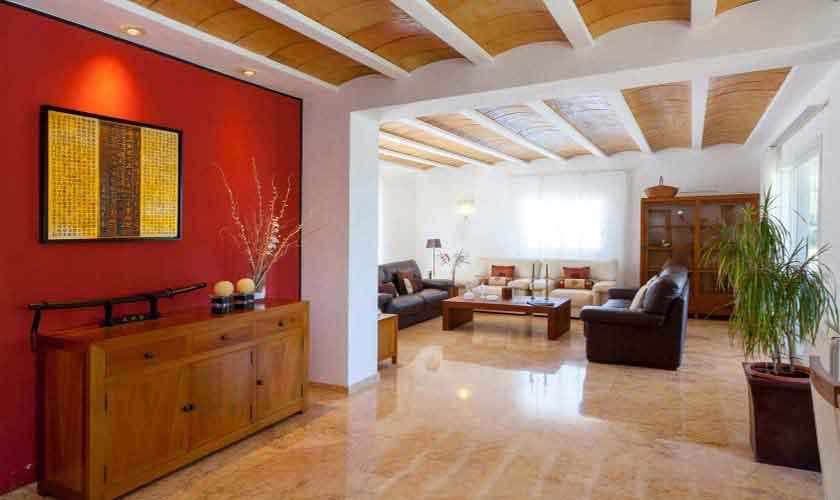 Wohnraum Ferienhaus Ibiza 8 Personen IBZ 91